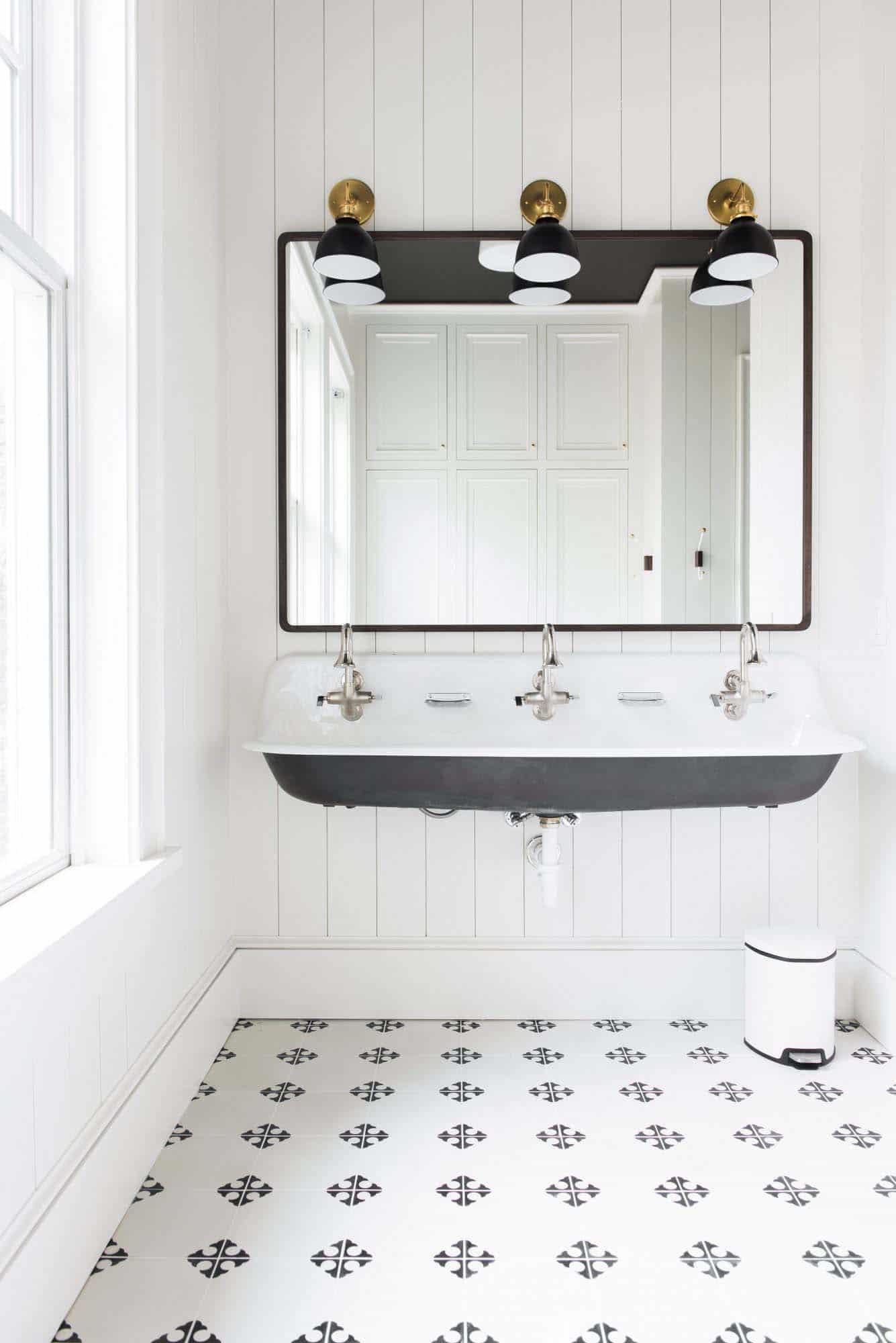 salle de bain de style plage