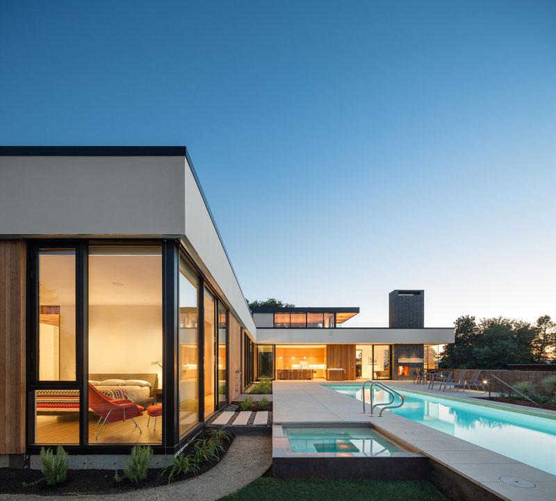 Maison en frêne Porland Design