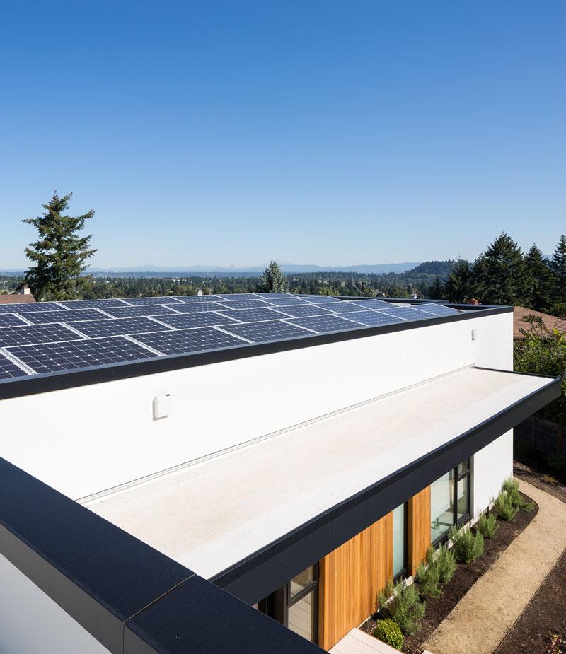Panneaux solaires Ash House Porland