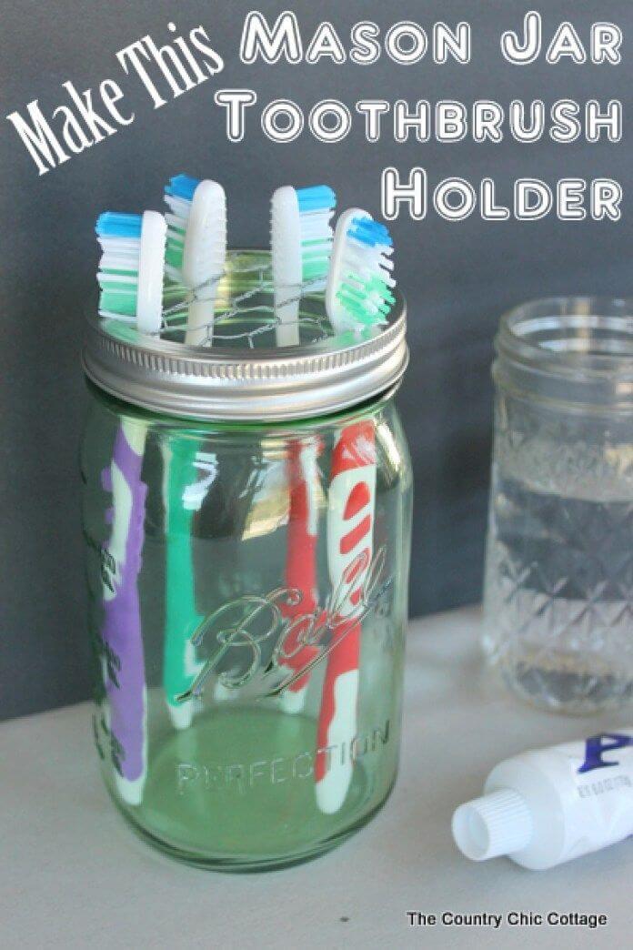 Porte-brosse à dents simple