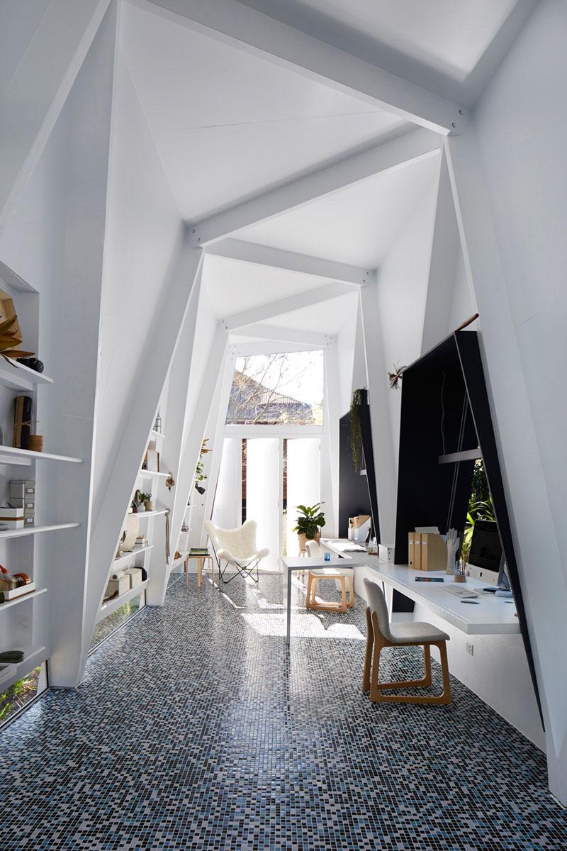 Motif en zigzag Studio Shed