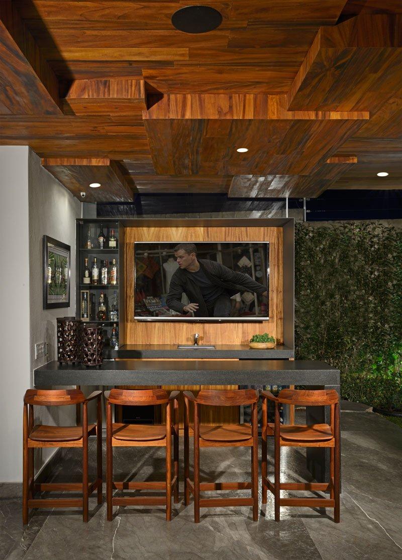 Bar extérieur Atrium House