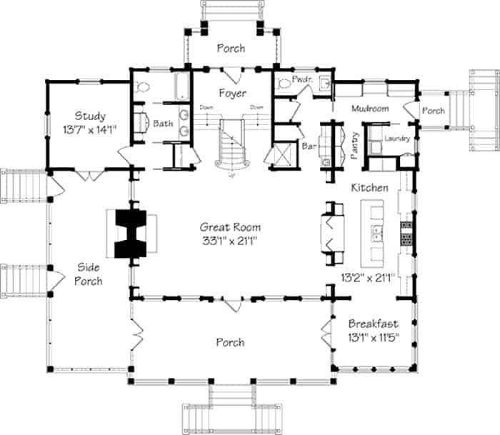 Maison traditionnelle de style côtier-Concepts historiques-21-1 Kindesign