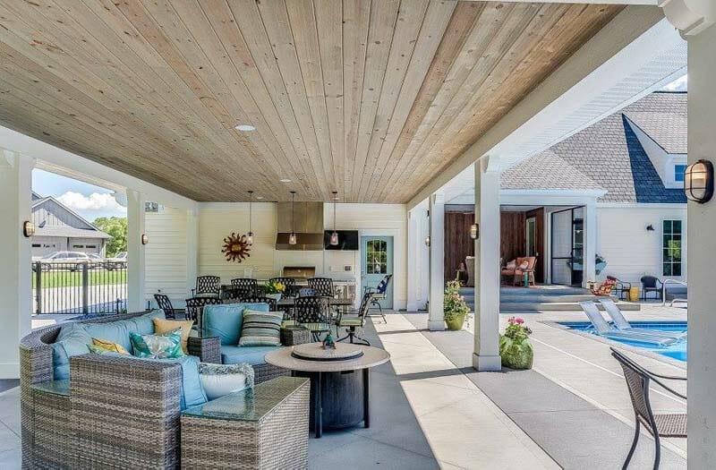 Style de plantation côtière moderne Home-CVI Design-48-1 Kindesign