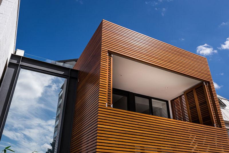Mini-terrasse privée de la Résidence Claremont