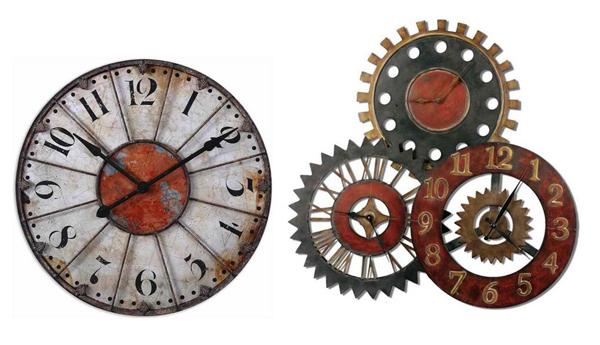 Modèles d'horloge murale