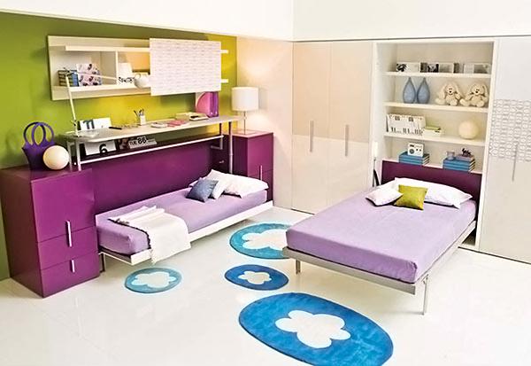 lits muraux