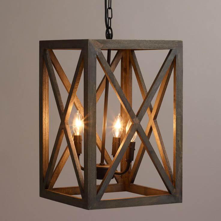 Une façon à l'ancienne d'apporter de la lumière dans votre salle à manger