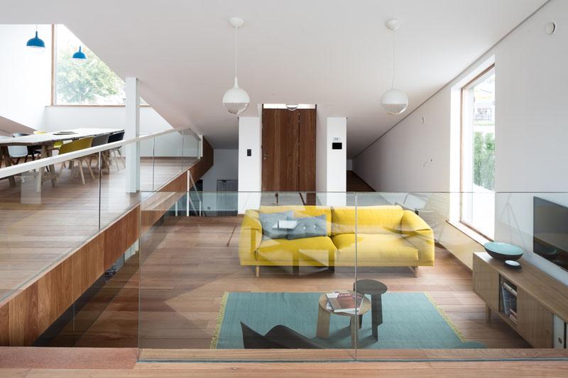 Espace de vie de la maison Pibo