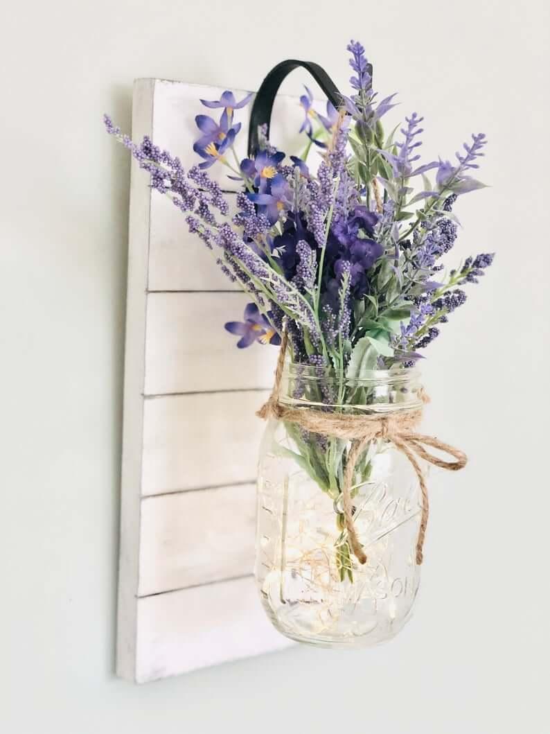 Ensemble de vases Shiplap, Twine et Mason Jar