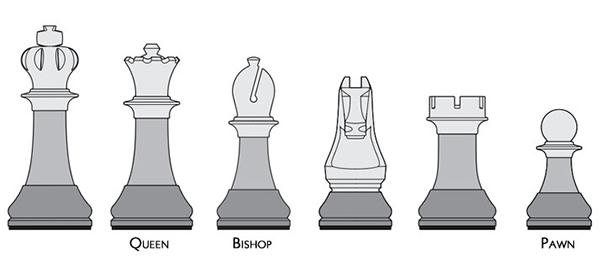 Tabouret Chessmen