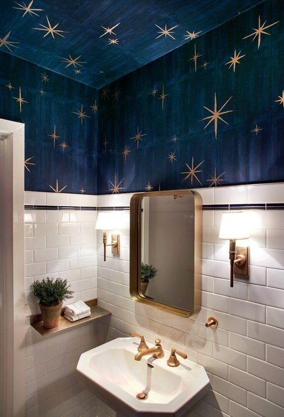 un design de salle d'eau compact mais élégant