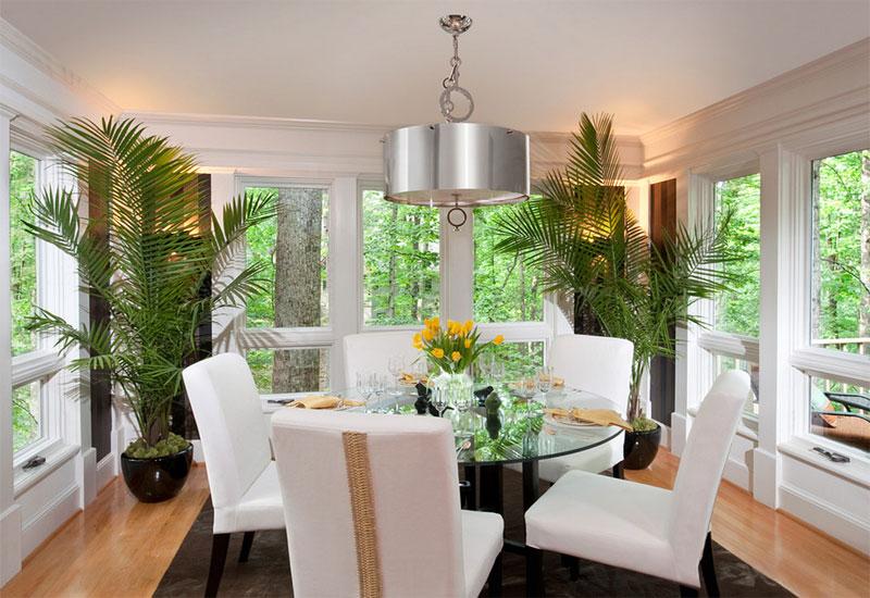 décoration de plantes vertes inspirée de la nature