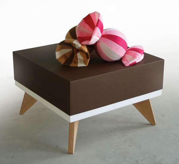 canapé en chocolat