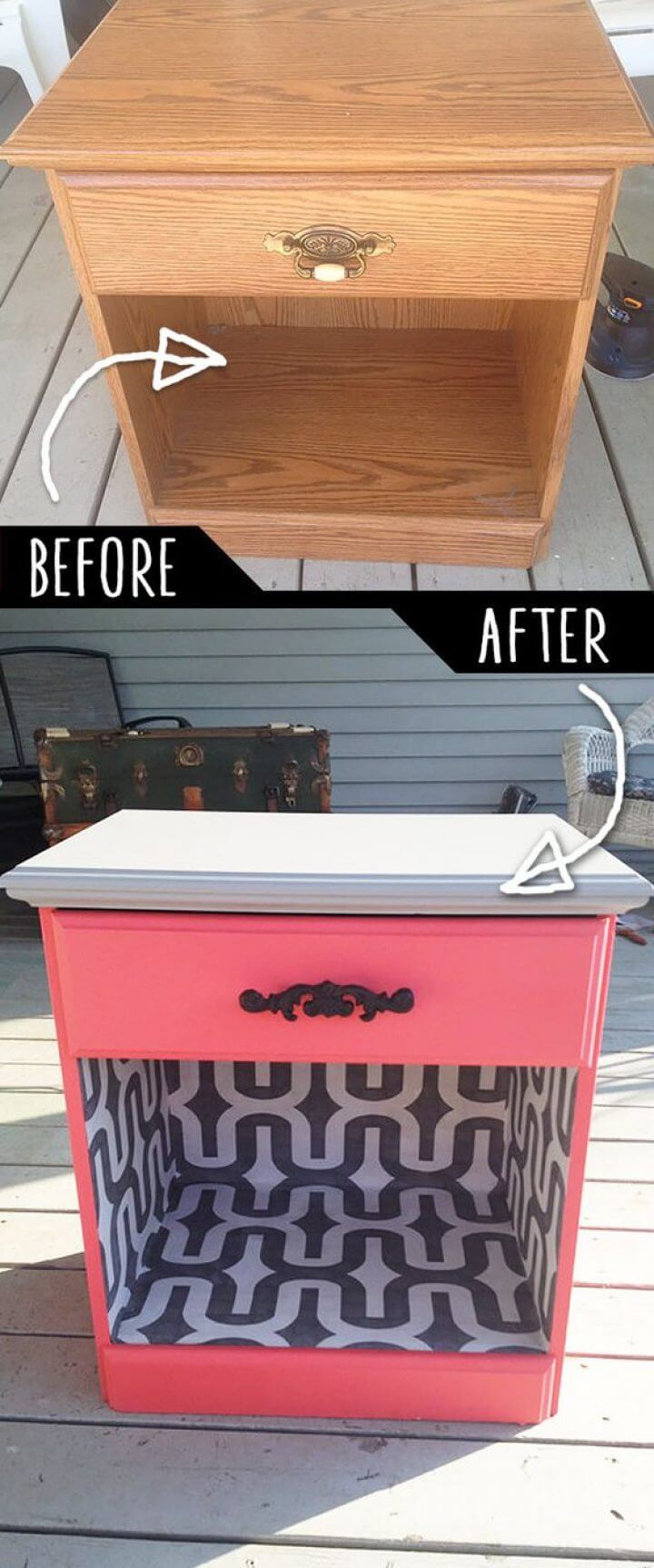Mod Makeover Repeint Cabinet Cubby