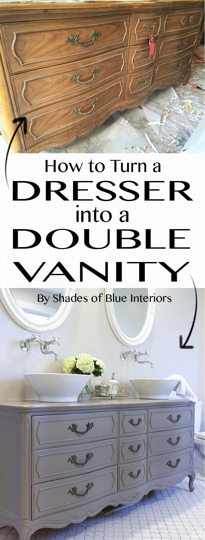 Vanité de salle de bain double Divine