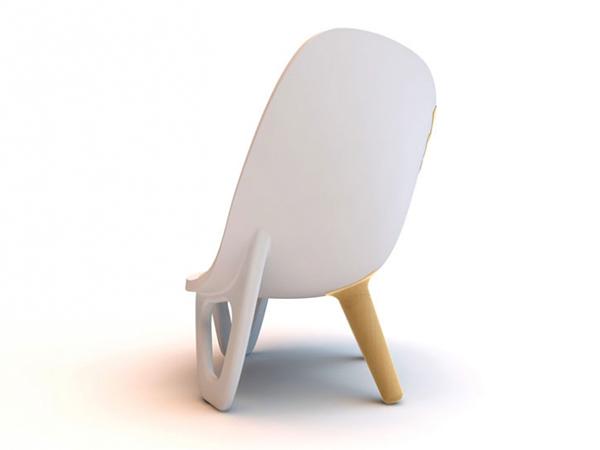 chaise unique