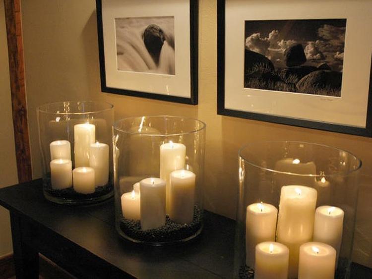 Bougies en verre Chapel Ambiance