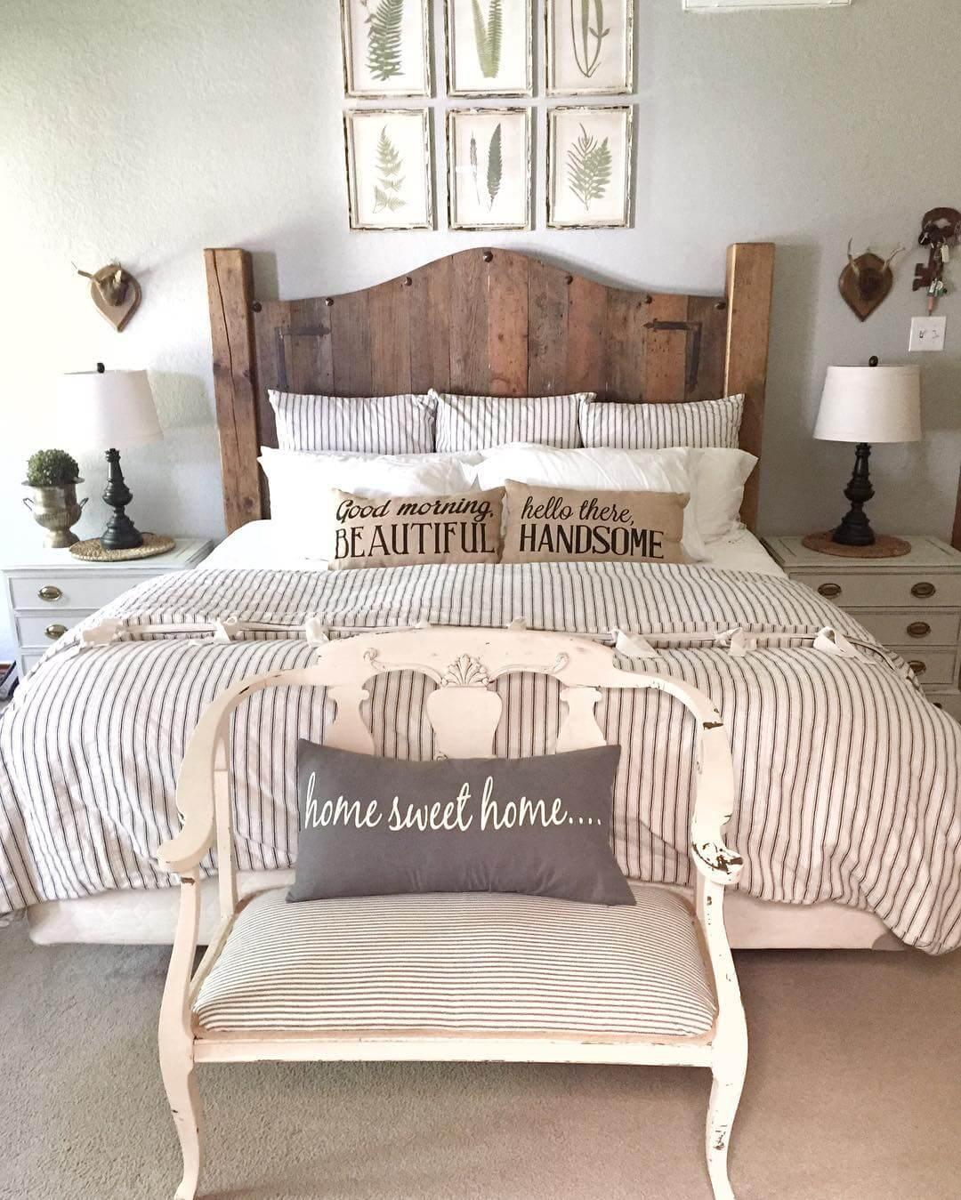 Homestead Chic Idées De Décoration De Chambre Romantique Sur Un Budget