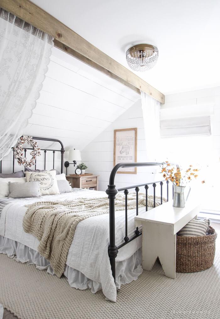 Demeure enchantée dans la chambre à coucher de l'Outback
