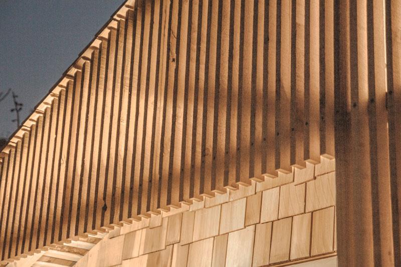 Writer's Shed London extérieur en bois de cèdre