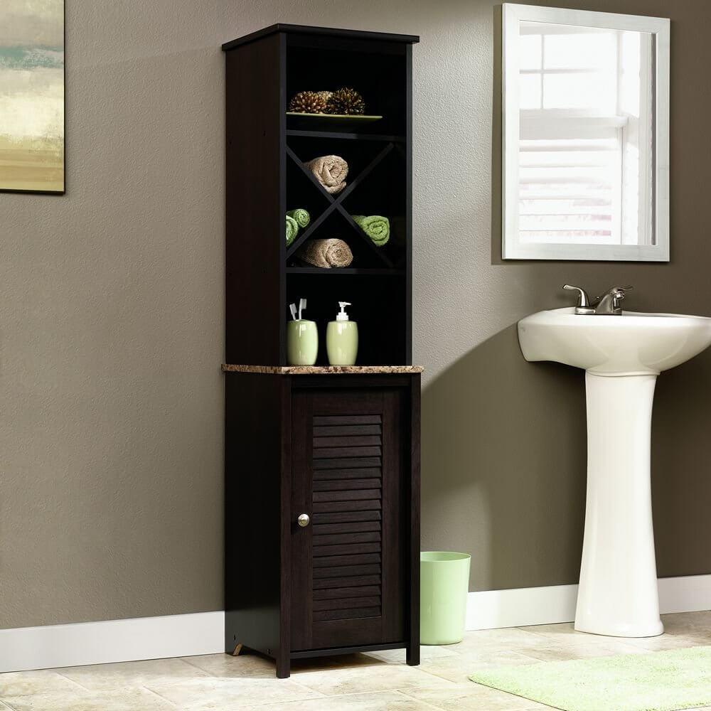 Armoire de salle de bain Sauder Linen Tower