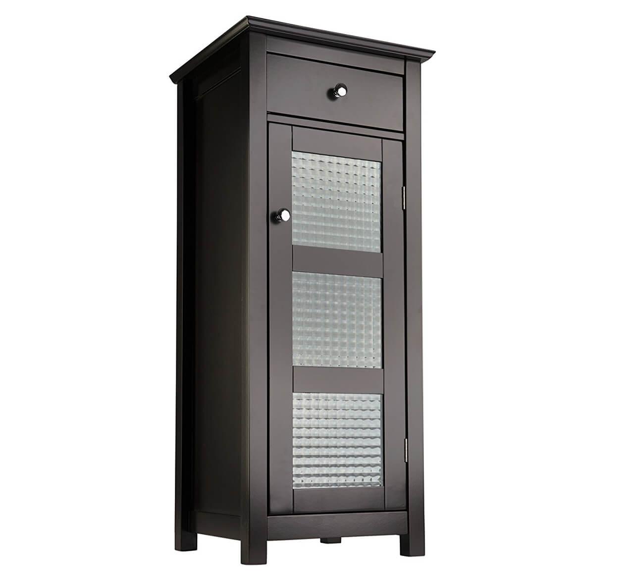 Élégante armoire de plancher de la collection Chesterfield de Home Fashions