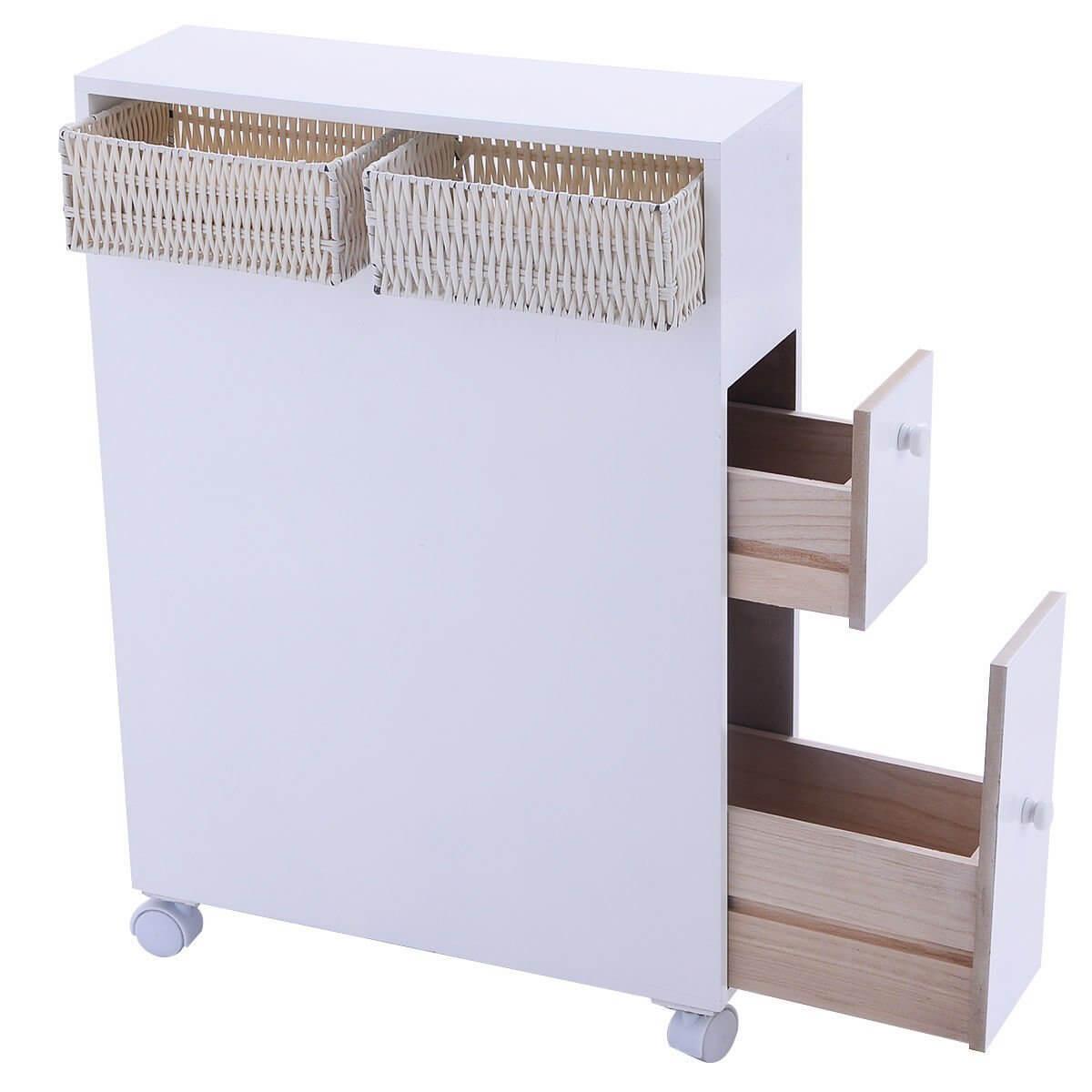 Support de meuble roulant de rangement pour salle de bain Tangkula
