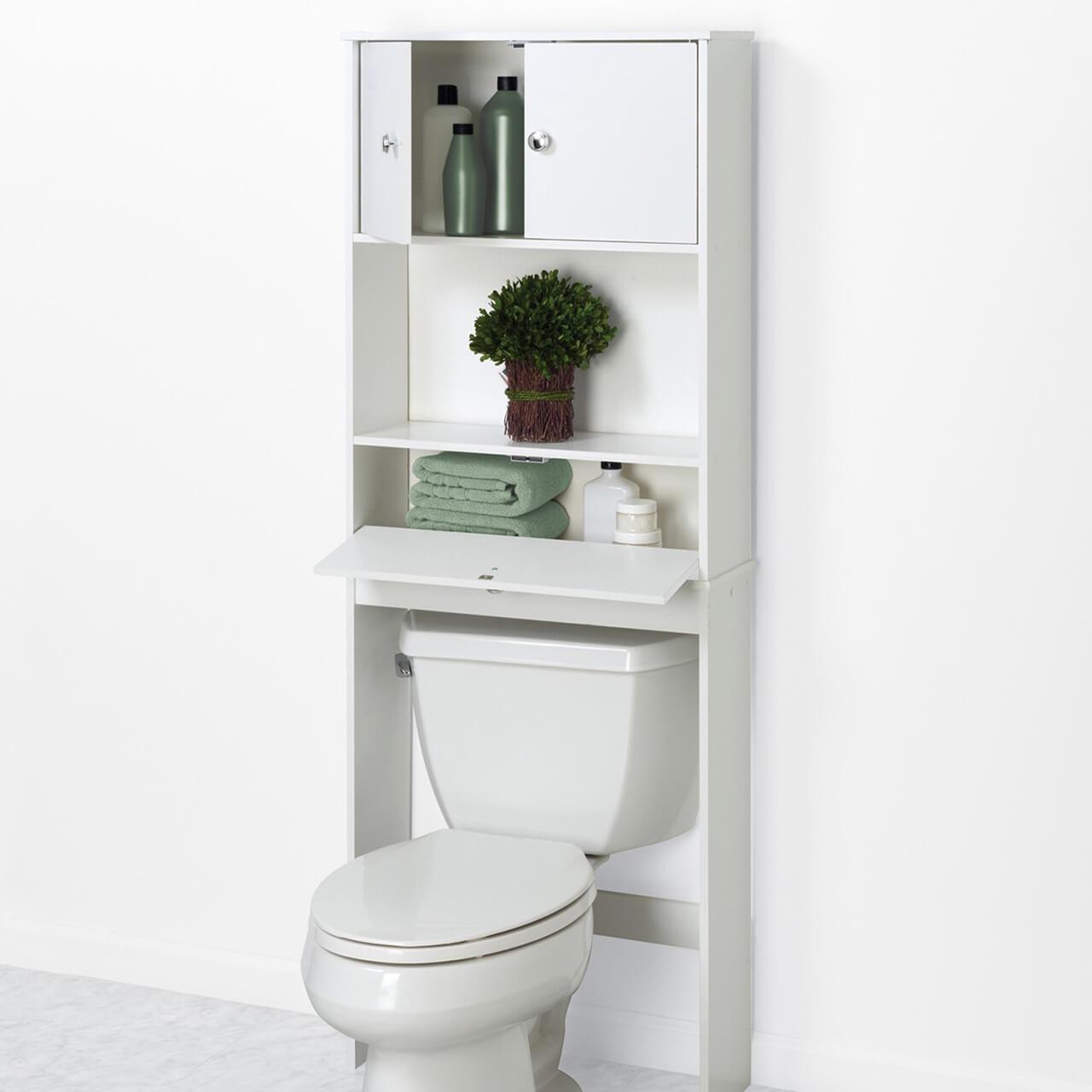Zenna Home Économiseur d'espace de salle de bain avec porte coulissante