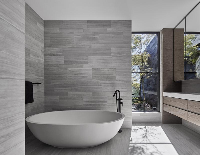 Salle de bain de la résidence Canterbury Road
