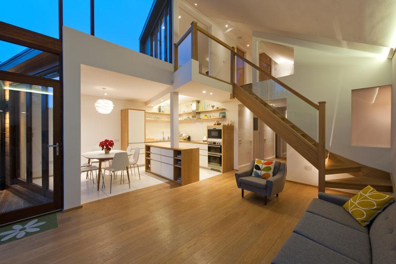Ecosse Extension escalier