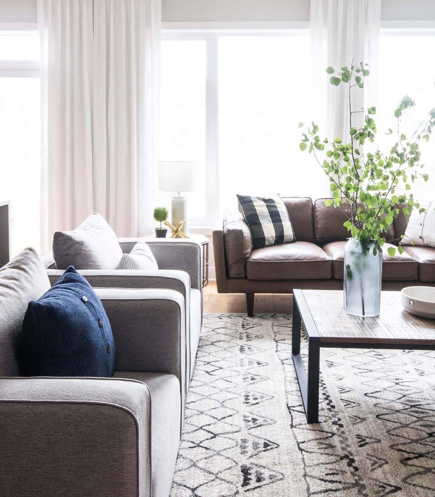 Modèle de maison contemporaine Design-Leclair Decor-10-1 Kindesign