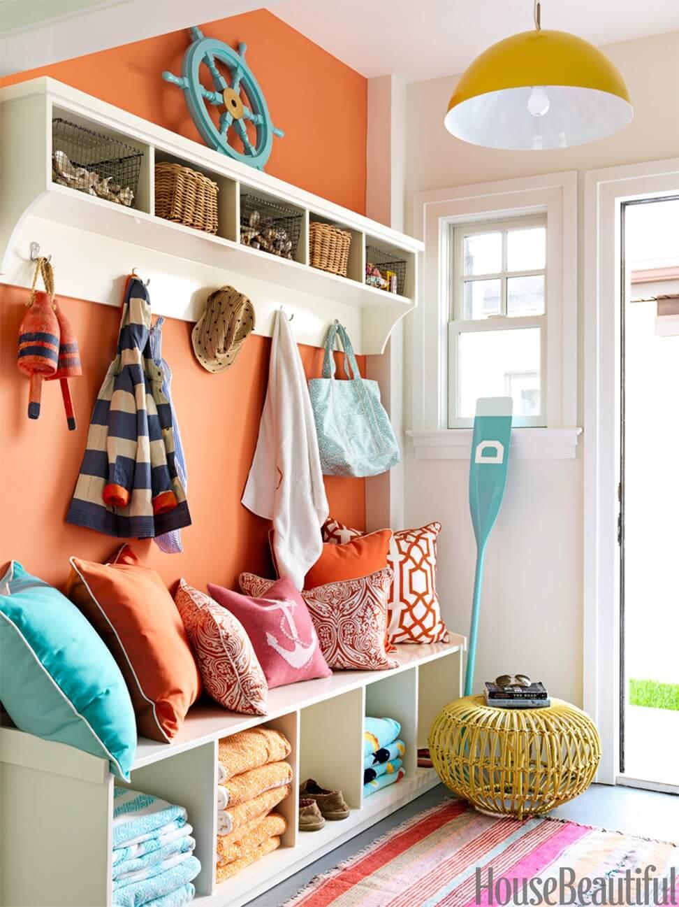 Choix de couleurs vives et ensoleillées