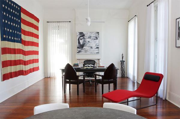 décor de drapeau énorme