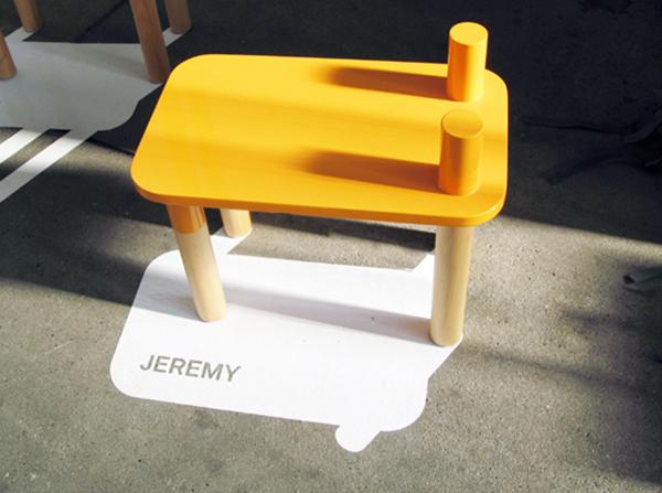 meubles de lion jaune