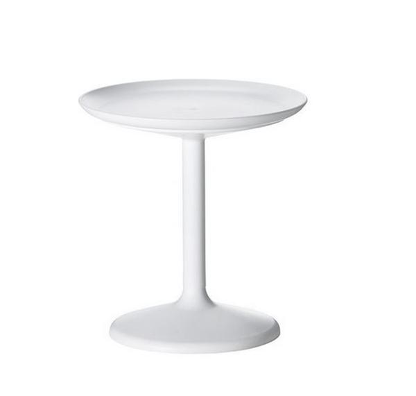 table de bout tout blanc
