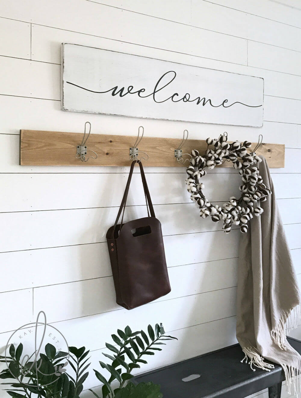 Un accueil chaleureux dans votre entrée