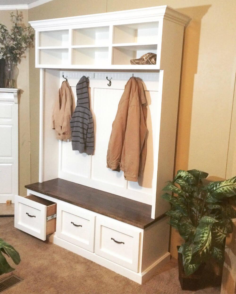 Organiser tout dans une seule armoire