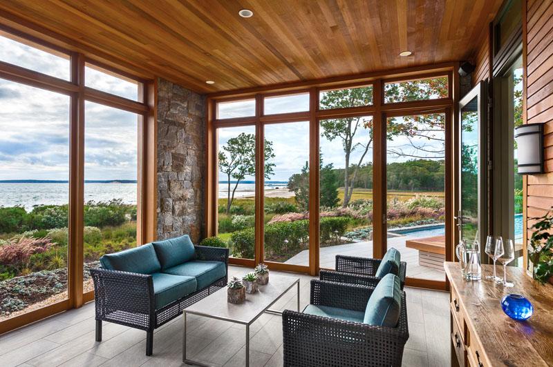 Solarium Long Island Home