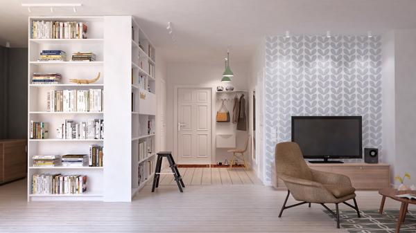 conception de petit appartement