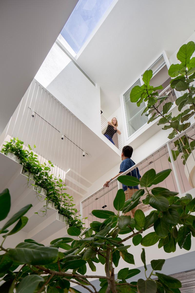 Architecture contemporaine à l'intérieur de Singapour 5
