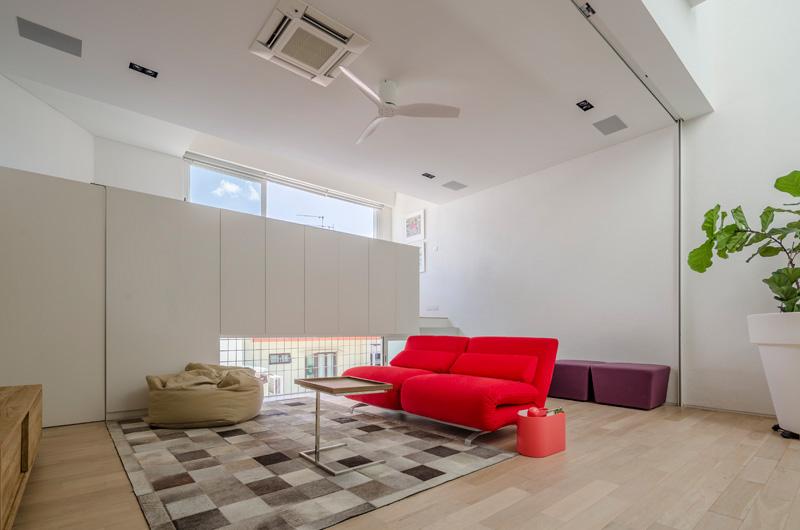 Architecture contemporaine à l'intérieur de Singapour 9