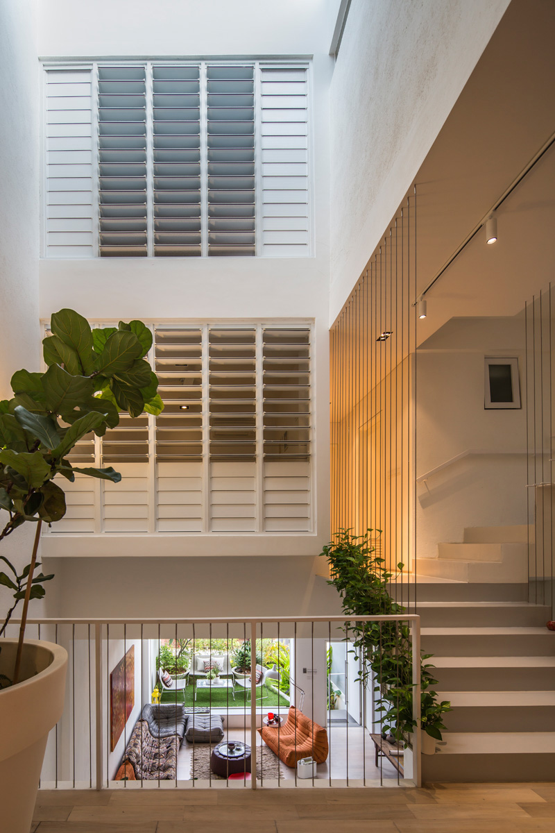 Architecture contemporaine à l'intérieur de Singapour 7
