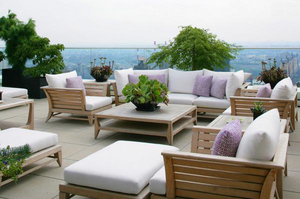 Coussin pour meubles de patio