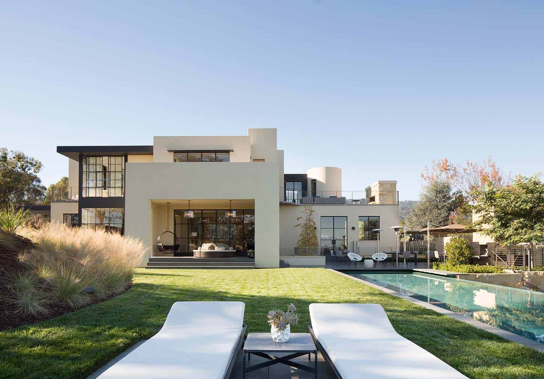 Complexe familial contemporain-Ken Linsteadt Architects-02-1 Kindesign