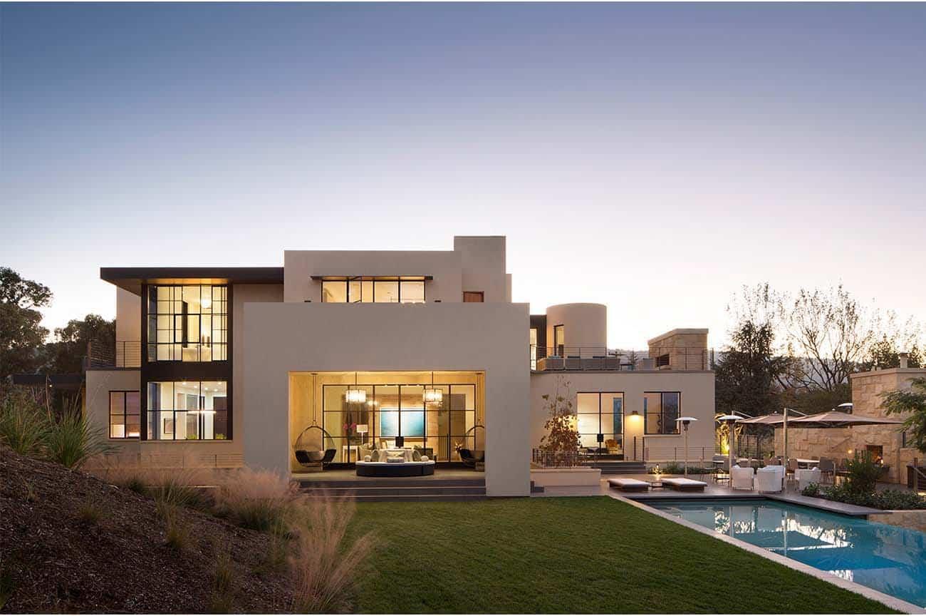 Complexe familial contemporain-Ken Linsteadt Architects-23-1 Kindesign