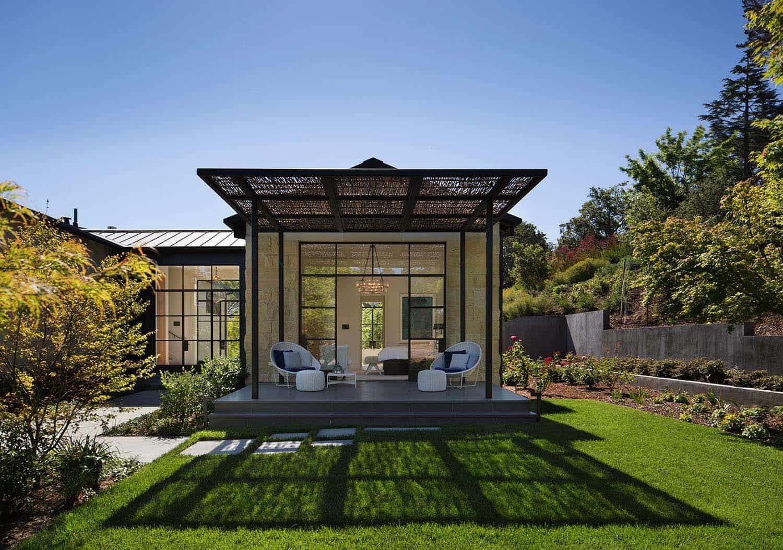 Complexe familial contemporain-Ken Linsteadt Architects-09-1 Kindesign