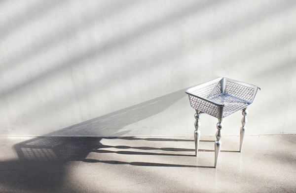 chaise argent chic