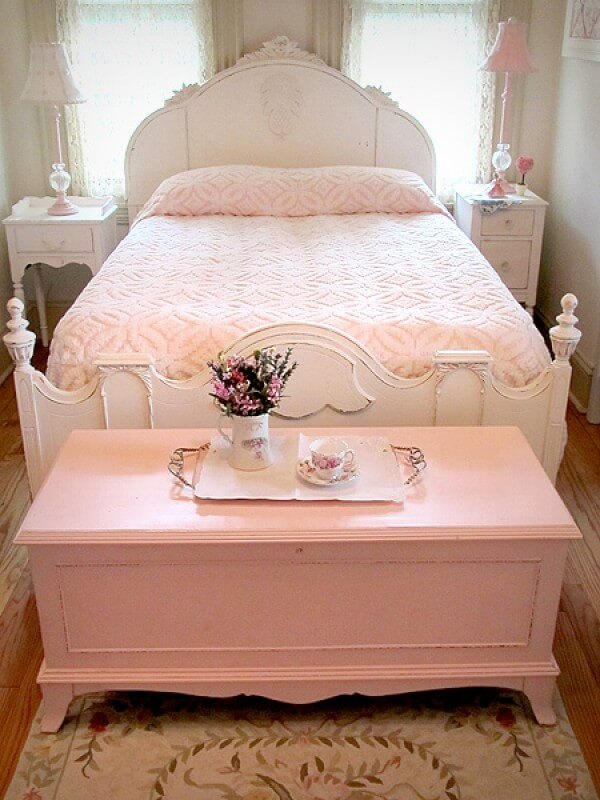 Coffre Shabby Chic Pink Hope