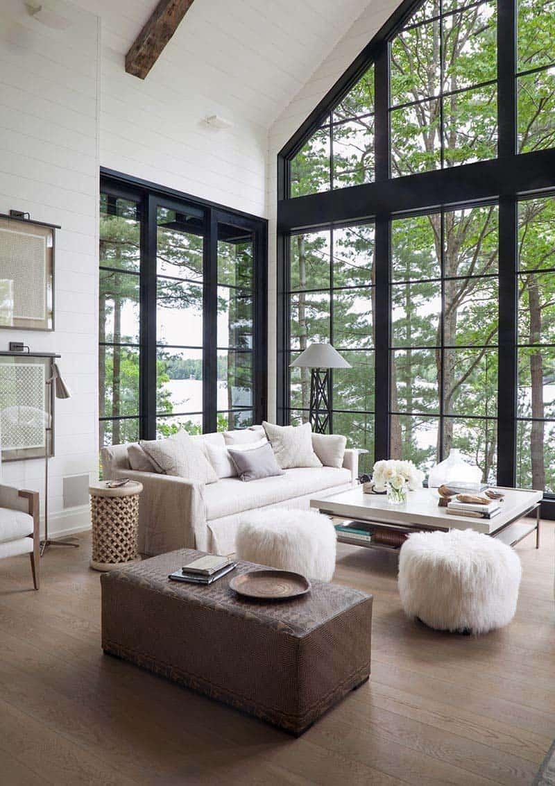 Rustic Modern Lake House-Anne Hepfer Designs-02-1 Kindesign